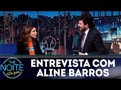 Entrevista com Aline Barros  The Noite 051218
