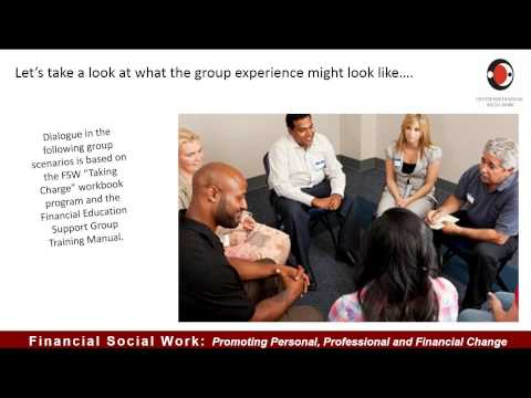 Engaging Clients with Financial Education Support Groups