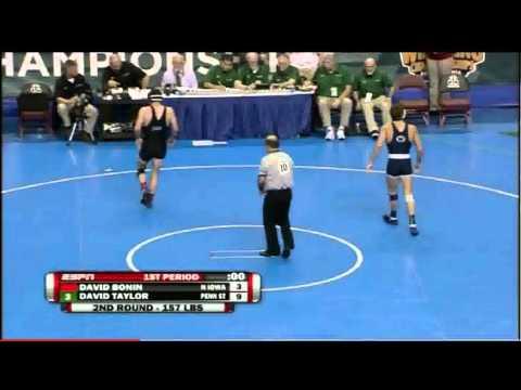 David Taylor vs David Bonin 2011 NCAA Second Round