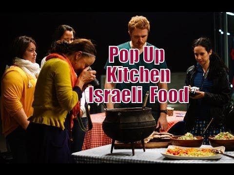 Cooking Israeli Food at Haifa University
