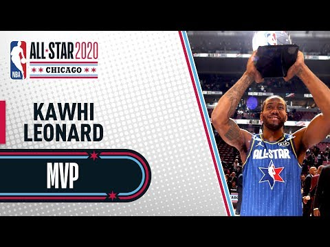 Best Of Kawhi Leonard NBA All-Star Game | NBA All-Star 2020