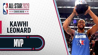 Best Of Kawhi Leonard NBA All-Star Game MVP | NBA All-Star 2020