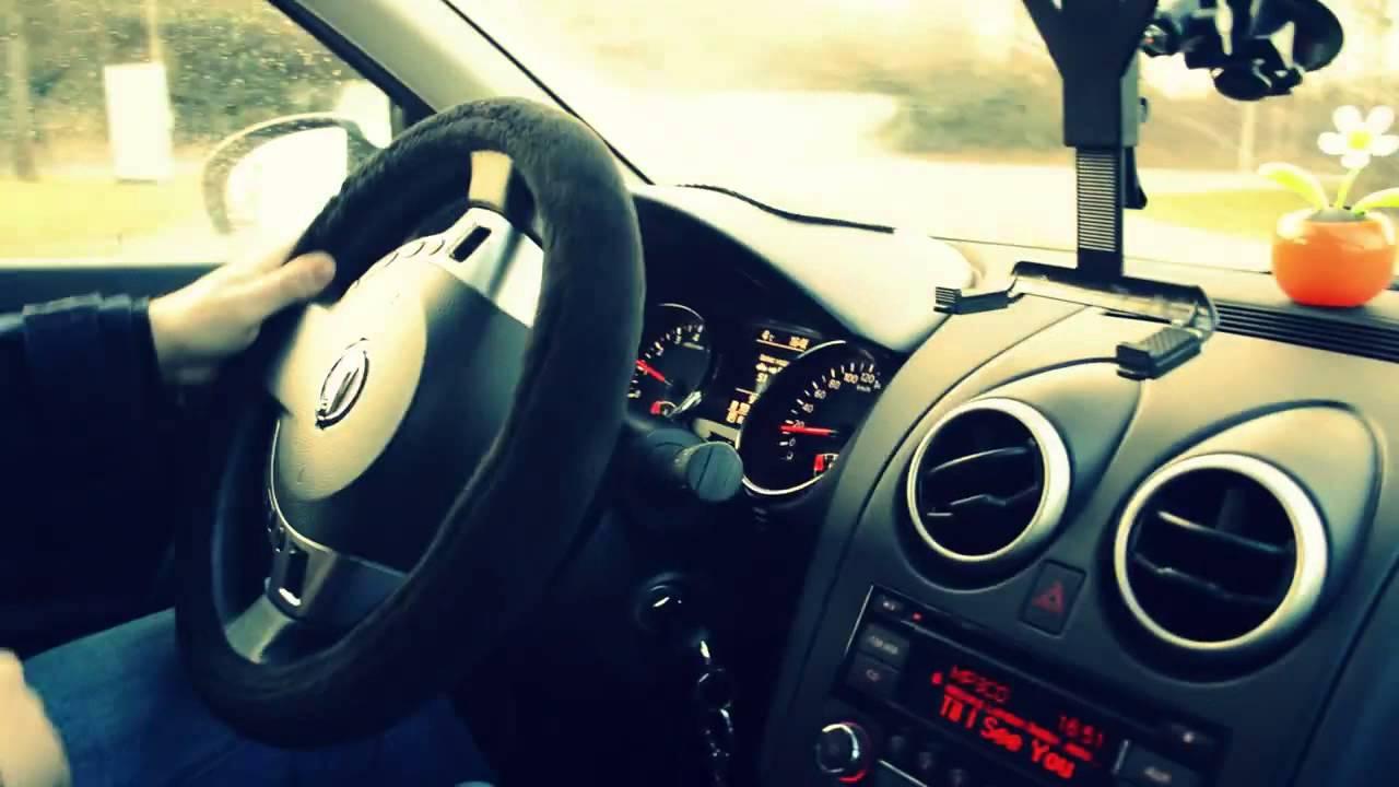 Учимся ездить на автоматической коробке передач на Nissan Qashqai