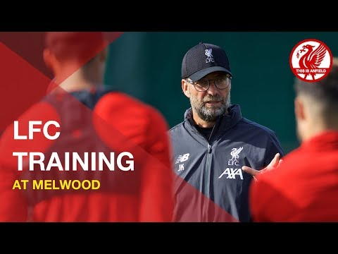 Liverpool FC training at Melwood