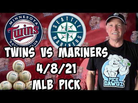 Minnesota Twins vs Seattle Mariners 4/8/21 MLB Pick and Prediction MLB Tips Betting Pick