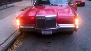 1969 Lincoln Continental Mark 3 headlights
