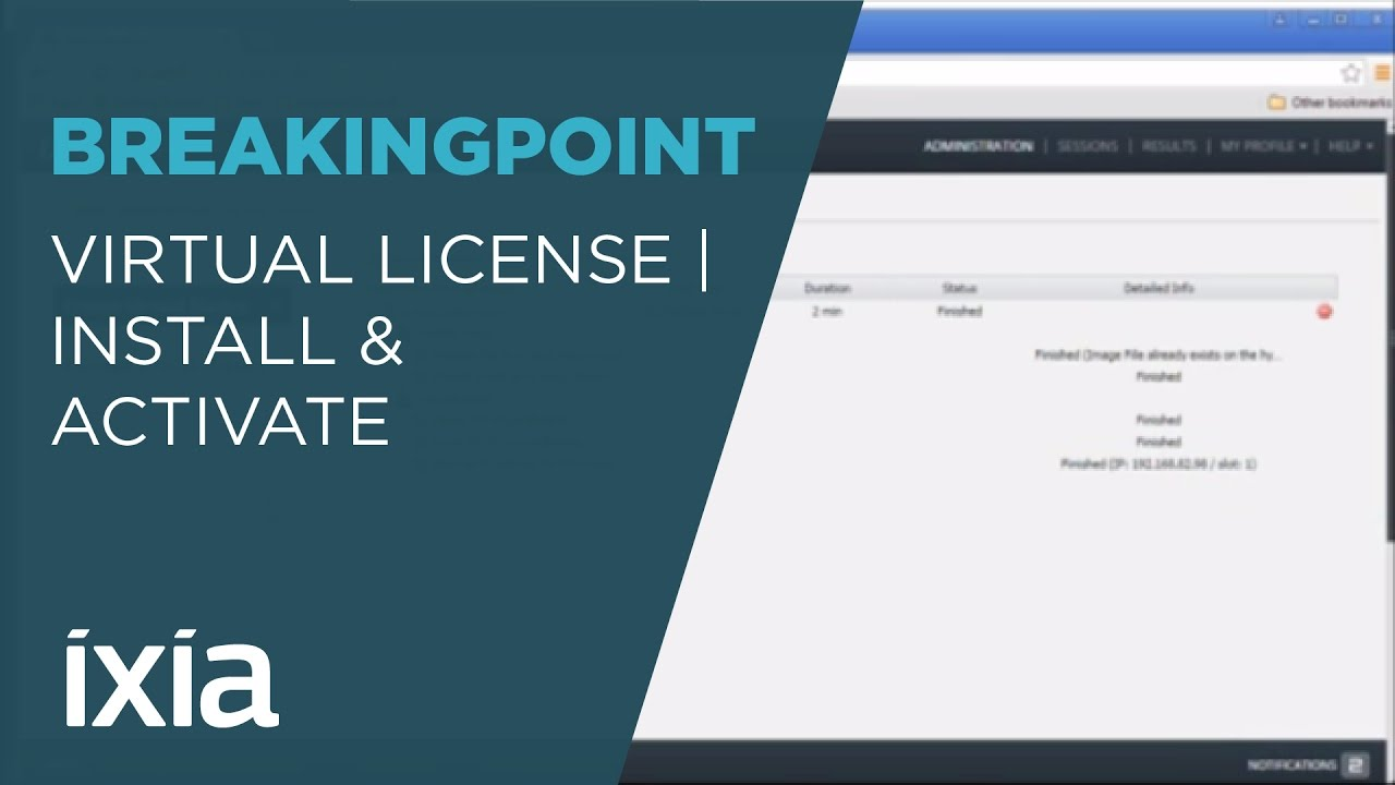 Tutorial How to Install and Activate a BreakingPoint Virtual Edition License