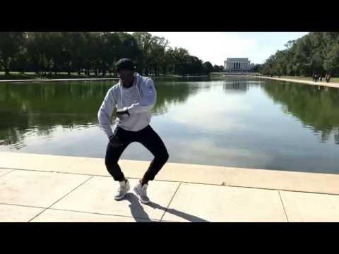 Afrohouse - Donald Wilson Impro Afro at World War II Memorial - Washington DC