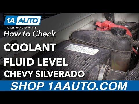 How to Check Coolant Level 07-13 Chevy Silverado