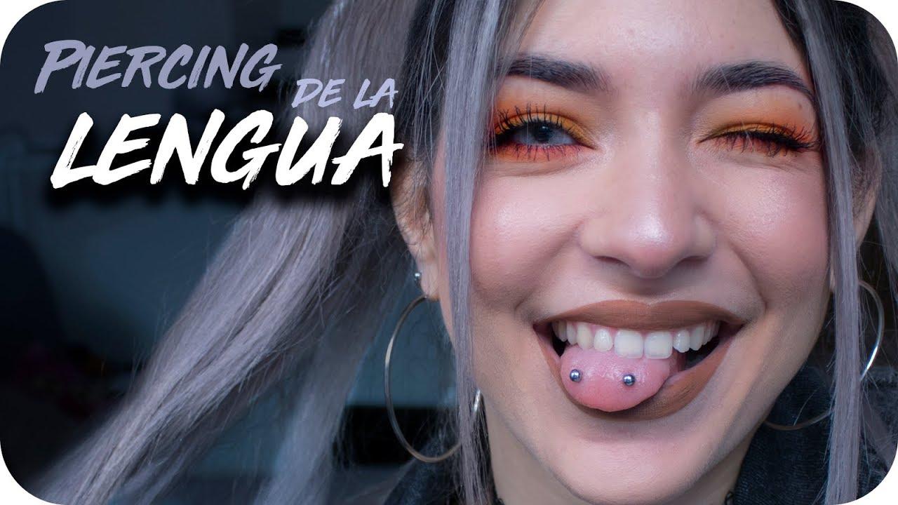 Mi Piercing De La Lengua Experiencia Youtube