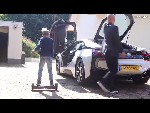 Demonstratie Elektrische Oxboard Met Bmw I8 Van Ekris Youtube