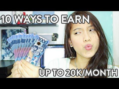 10 Ways To Earn As A College Student | PAANO KUMITA NG PERA (Philippines)