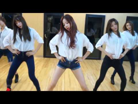 EXID 'Up & Down' Mirrored Dance Practice Eye Contact