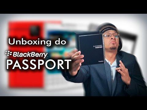Unboxing do Blackberry Passport. O Smartphone mais estiloso!