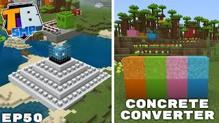 Easy Concrete Converter & Angry Letter (Kinda) - Truly Bedrock Season 2 Minecraft SMP Episode 50