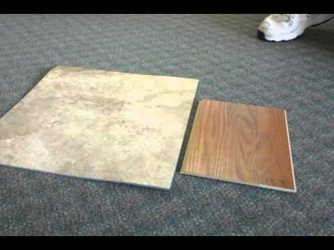 Nafco Luxury Tile Vs Pergo Laminate Wood Youtube