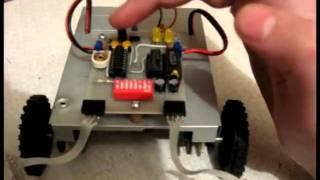 Первая конструкция BEAM-робота