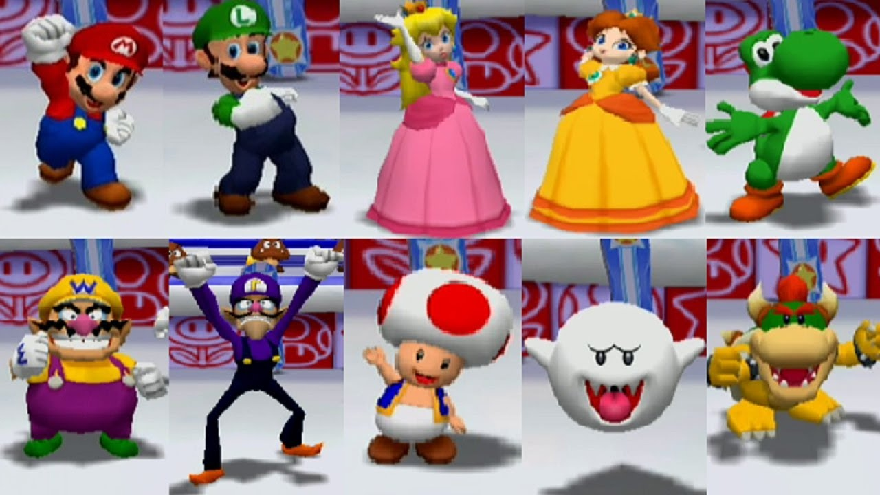 Mario Party 6 All Characters
