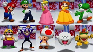 Mario Party 6 - All Characters