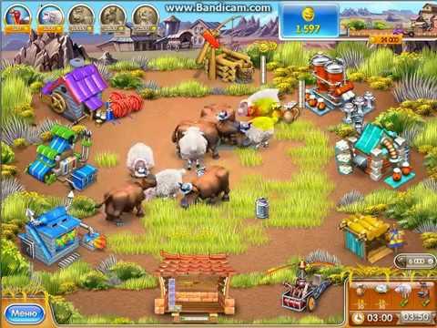 прохождение игры весёлая ферма 3 (52 уровень)