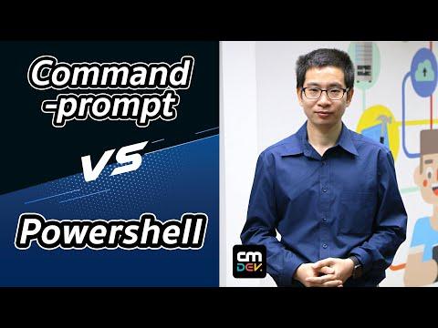 สอนการใช้ Windows PowerShell สำหรับ Programmer (Windows และ macOS)