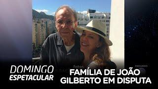 Família do cantor João Gilberto trava intensa disputa por indenização