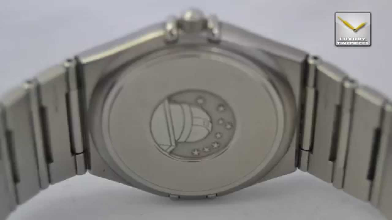7288ce1d86ea0 OMEGA CONSTELLATION STAINLESS STEEL MEN´S WATCH 1532 QUARTZ - YouTube
