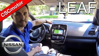 Nissan Leaf - 2017   Prueba en carretera