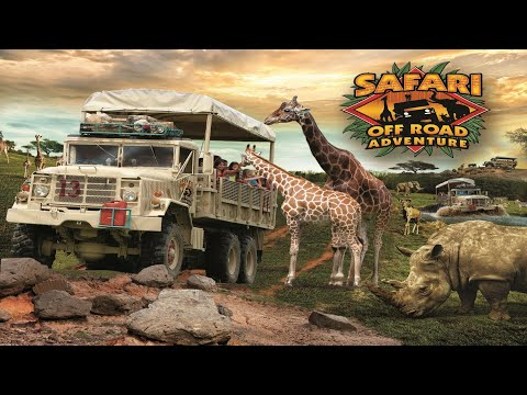 The Pookie Show Ep.6 - Six Flags Safari Off Road Adventure