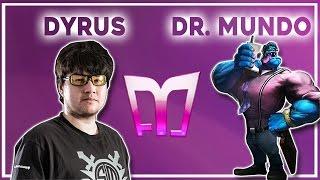 Dyrus - Dr.Mundo vs Rammus - Top «Boss» (Ranked Gameplay)
