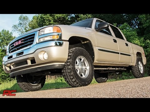 Installing 1999-2006 GM 1500 Pickup 1.5 to 2.5-inch Suspension Lift Kit by Rough Country