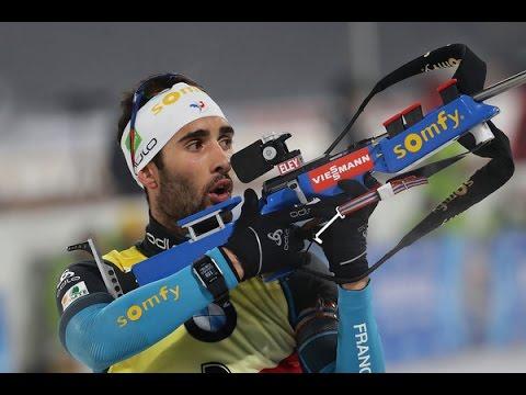 Martin Fourcade - Poursuite Pyeongchang 2017