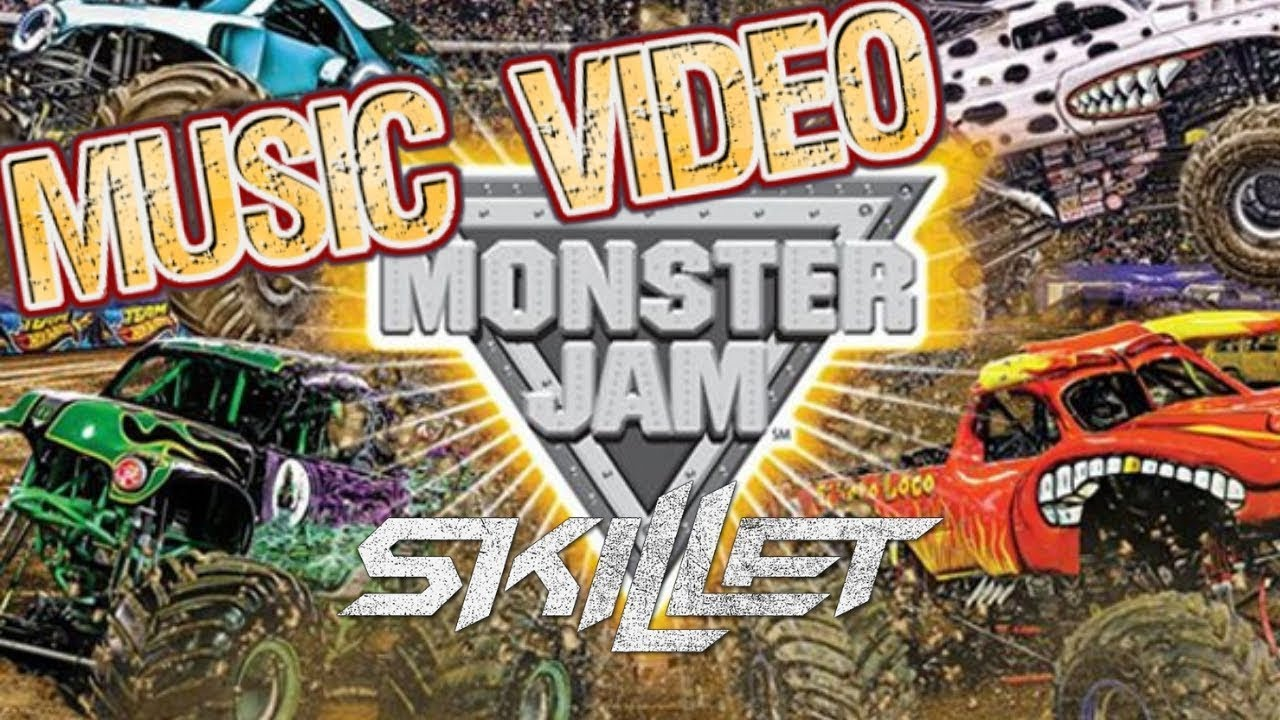 Skillet Monster Monster Jam Music Video San Diego At Petco Parks Monster Jam Trucks Kids Youtube