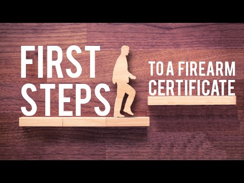 First Step To Getting A UK Firearms Certificate