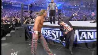 Shawn Michaels vs Mr. McMahon (NO HOLDS BARRED HIGHLIGHTS)