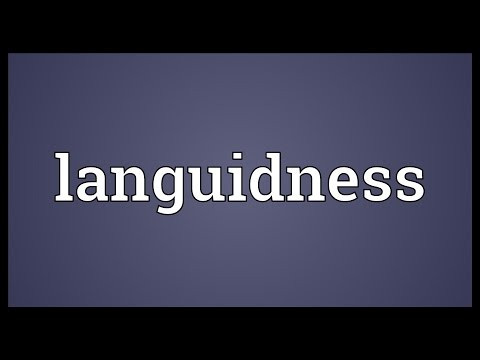 Header of languidness