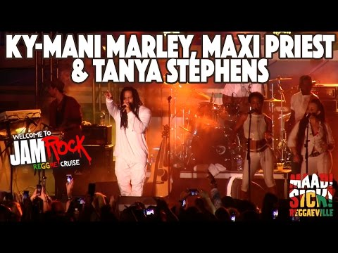 Ky-Mani Marley, Maxi Priest & Tanya Stephens @ Welcome To Jamrock Reggae Cruise #1 2015