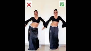'Maya' technique in Belly Dancing #dancewithsoumya #shorts