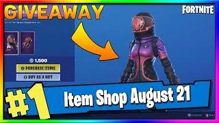 Fortnite Item Shop GIVEAWAY * NEW * corrompido VOYAGER e BOUNCE lua! 21 de agosto temporada Fortnite X