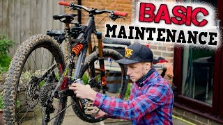 MTB BASIC MAINTENANCE ROUTINE