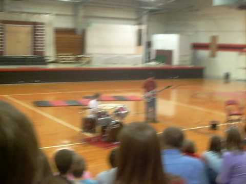 Dillion & Spencer at CAM Middle School Talent Show