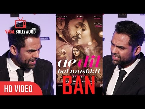 Abhay Deol Shocking Reaction | indian Goverment | Ae Dil Hai Mushkil Release Ban