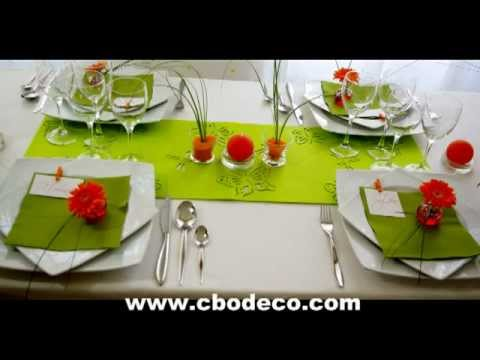 d coration de table printemps by cbodeco s bastien lhoste youtube. Black Bedroom Furniture Sets. Home Design Ideas