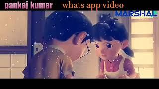 Chehre Me Tere Khud Ko dhundu Nobita $ Shizuka video WhatsApp status