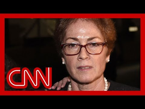 Impeachment witness Marie Yovanovitch called 'bad news' by Donald Trump