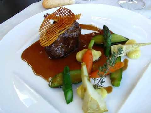 Viande Et Légumes Au Restaurant Les Terrasses De Pommiers