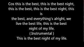 Repeat youtube video Best Night - Justice Crew Lyrics