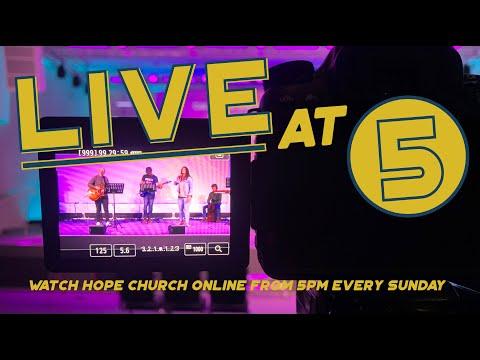 Hope Church Online – Sunday  20th December
