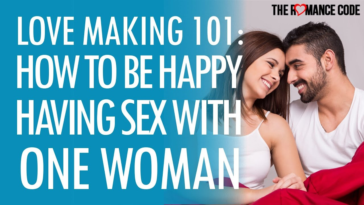 How to be happy without sex