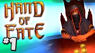 Duncan Plays: Hand Of Fate #1 - JACK OF DUST